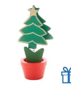Houten clip kerstboom bedrukken