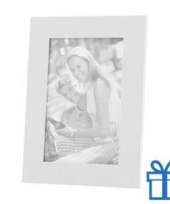 Houten fotolijstje wit bedrukken