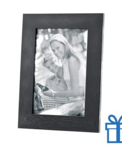 Houten fotolijstje zwart bedrukken