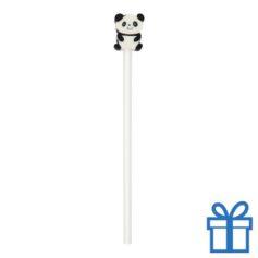 Houten kinder potlood gum panda bedrukken