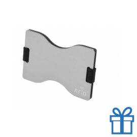 Kaarthouder aluminium zilver