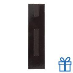 Kartonnen pennenhoes zwart