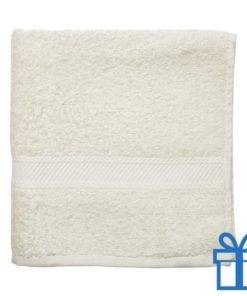 Katoenen handdoek medium naturel bedrukken