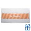 Katoenen handdoek op maat medium wit bedrukken
