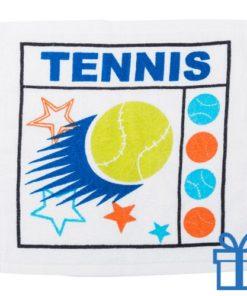Katoenen handdoek tennis bedrukken
