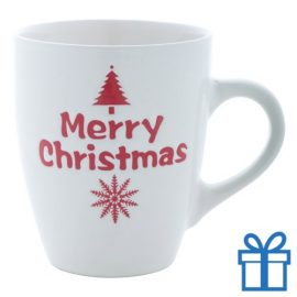 Kerst mok merry christmas 350ml bedrukken