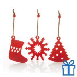 Kerstboomhanger decoratie 9 stuks bedrukken