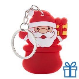 Kerstmis sleutelhanger kerstman bedrukken