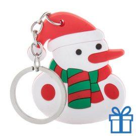 Kerstmis sleutelhanger sneeuwpop bedrukken