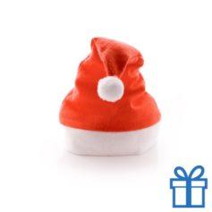 Kerstmuts klassiek rood bedrukken