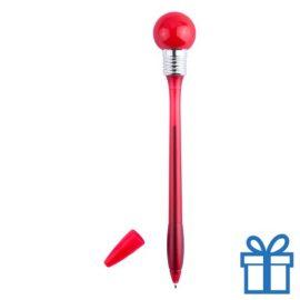 Kinderbalpen bol LED rood bedrukken