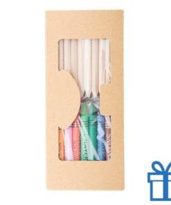 Kleurset kleurpotloden paper box bedrukken