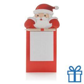 Koelkastmagneet kerst notitieboekje bedrukken