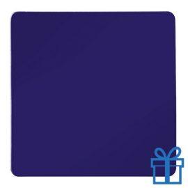 Koelkastmagneetvierkant blauw bedrukken