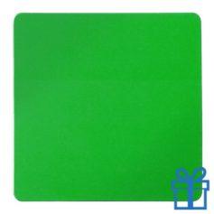 Koelkastmagneetvierkant groen bedrukken