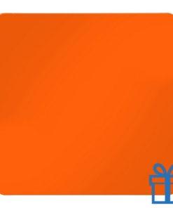 Koelkastmagneetvierkant oranje bedrukken