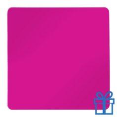 Koelkastmagneetvierkant roze bedrukken