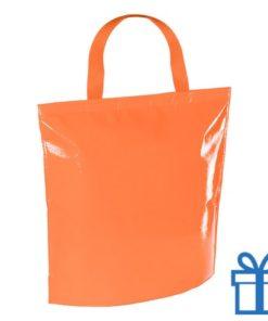 Koeltas strandtas oranje bedrukken