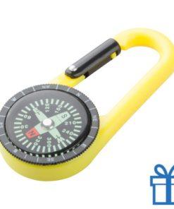 Kompas tracking geel bedrukken