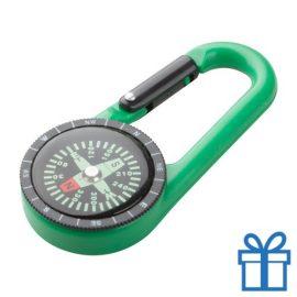 Kompas tracking groen bedrukken