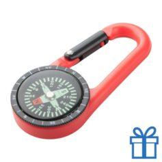 Kompas tracking rood bedrukken