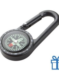 Kompas tracking zwart bedrukken