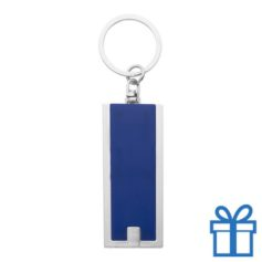 Led lamp sleutelhanger blauw bedrukken