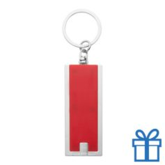 Led lamp sleutelhanger rood bedrukken