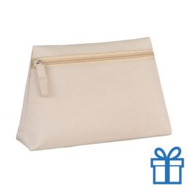 Make-up tas hip naturel bedrukken
