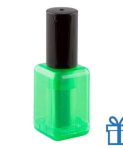 Marker naggellakvorm groen bedrukken