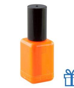 Marker naggellakvorm oranje bedrukken