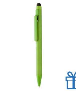 Matte balpen touchscreen groen