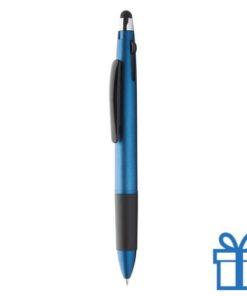 Matte finish touchscreen balpen blauw