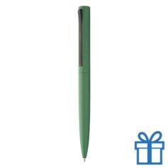 Matte metallic balpen groen