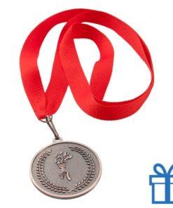 Medaille plastic op maat brons bedrukken