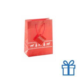 Medium geschenktas rood