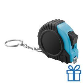 Meetlint plastic rolband blauw bedrukken
