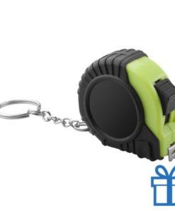 Meetlint plastic rolband groen bedrukken