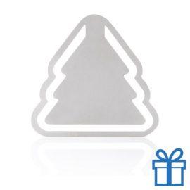 Metalen boekenlegger kerstboom bedrukken