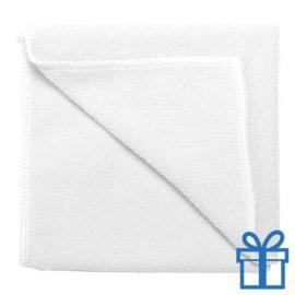 Microvezel handdoek wit bedrukken