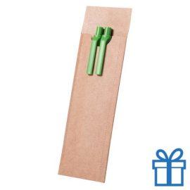 Milieuvriendelijke pennenset