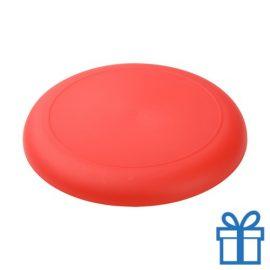 Mini frisbee rood bedrukken