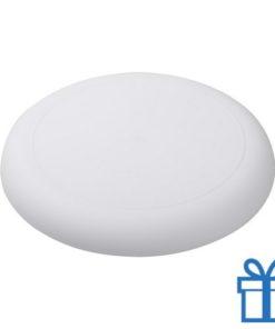 Mini frisbee wit bedrukken