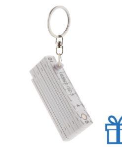 Mini opvouwbare liniaal sleutelhanger bedrukken