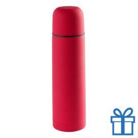 Moderne thermosfles 500ml rood bedrukken