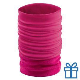 Nek verwarmer roze bedrukken