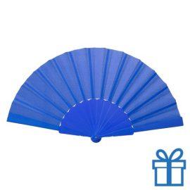 Opvouwbare waaier windy blauw bedrukken