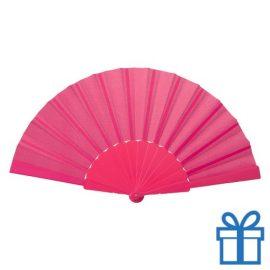 Opvouwbare waaier windy roze bedrukken