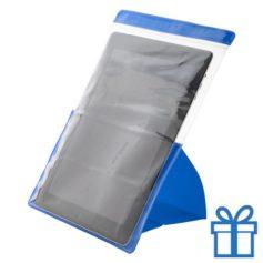 PVC waterdichte tablethouder blauw bedrukken