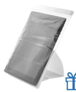 PVC waterdichte tablethouder wit bedrukken